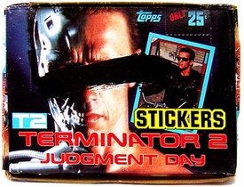 Terminator 2: Judgment Day T2 Topps Sticker Box [48 Packs] BLOWOUT SALE!