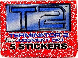 Terminator 2: Judgment Day Topps Sticker Pack BLOWOUT SALE!