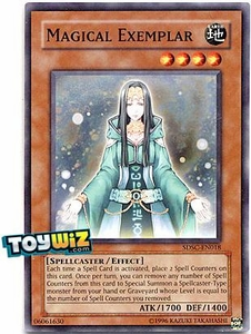 YuGiOh 5D's Spellcaster's Command Single Card SDSC-EN018 Magical Exemplar