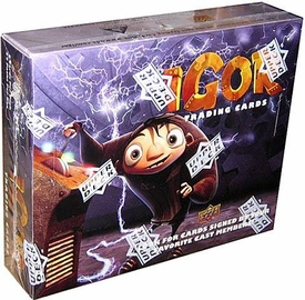 Upper Deck Igor Movie Trading Card Box BLOWOUT SALE!