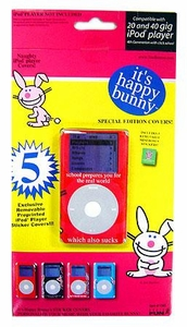 Basic Fun Exclusive Ipod Skins Happy Bunny