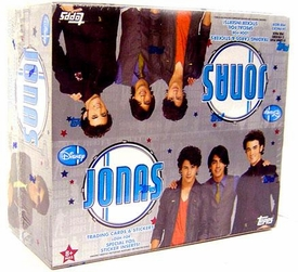 Topps Disney Jonas Brothers Trading Cards & Stickers Box [24 Packs]