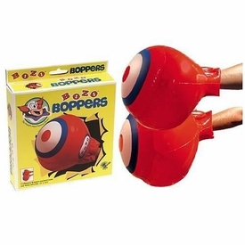Bozo the Clown Rocket USA 7 Inch Inflatable Bozo Boppers
