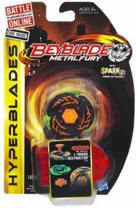 Beyblades Metal Fury Hyperblades Attack #BB-108-FX L-Drago Destructor