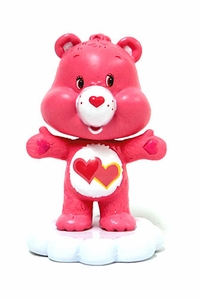 Care Bears Japanese Mini Bobble Head Love-a-Lot Bear