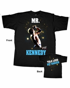 Official WWE Wrestling Superstars T-Shirt [Adult S] Mr. Kennedy  #WWM070