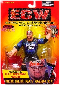 ECW Extreme Championship Wrestling Toymakers Action Figure Buh Buh Ray Dudley