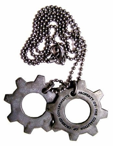 NECA Gears of War Cog Tags