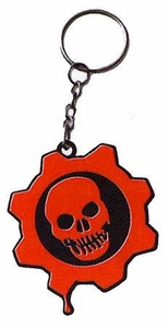 NECA Gears of War Rubber Crimson Omen Keychain