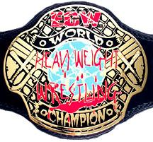 ECW Kids Replica Heavyweight Championship Belt