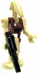 LEGO Star Wars LOOSE Mini Figure Battle Droid Security with Blaster [Version 2] BLOWOUT SALE!