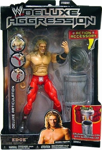 WWE Jakks Pacific Wrestling DELUXE Aggression Series 6 Action Figure Edge
