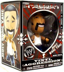 WWE Wrestling Vinyl Aggression 3 Inch Figure Series 4 Jimmy Wang Yang