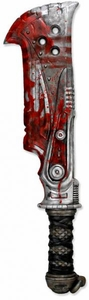 NECA Gears of War 36 Inch Foam Prop Replica Butcher Cleaver Weapon