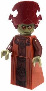 LEGO Star Wars LOOSE Mini Figure Nute Gunray in Robes & Dark Red Miter