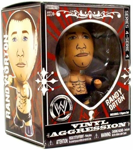 WWE Wrestling Vinyl Aggression 3 Inch Figure Series 4 Randy Orton