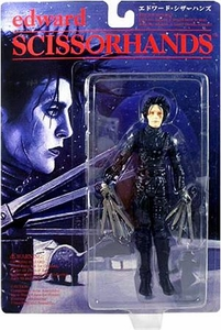 Edward Scissorhands Tim Burton Movie Japanese Action Figure Edward Scissorhands