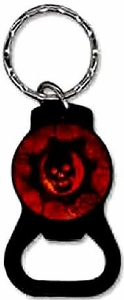 NECA Gears of War 3 Keychain Crimson Omen Bottle Opener [Black Symbol]