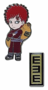 Naruto Shippuden Pin Set SD Gaara