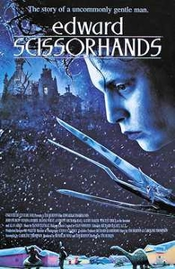 Edward Scissorhands Movie Poster #2975