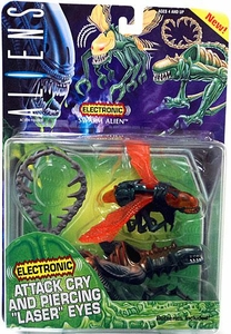 Aliens Kenner Vintage 1994 Electronic Action Figure Alien Swarm [Attack Cry & Laser Eyes]