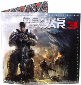 NECA Gears of War 3 Vinyl Wallet with Box Art