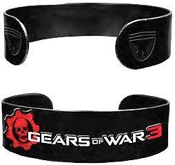 NECA Gears of War 3 Military Bracelet Logo