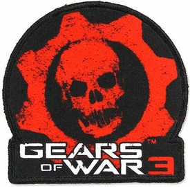 NECA Gears of War 3 Patch Gears of War 3 Logo