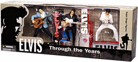 McFarlane Toys Elvis Presley Action Figure 3-Pack Through the Years ['70 Las Vegas, '60 Rockabilly & '68 Comeback]