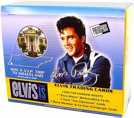 Elvis Presley Press Pass Elvis Trading Card Sealed Box [24 Packs]