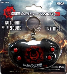 NECA Gears of War 3 Keychain with Sound