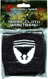 NECA Gears of War 3 Terry Cloth Wristband Marcus Fenix Symbol