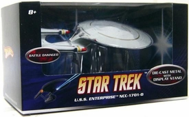 Mattel Hot Wheels Star Trek Movie 1:50 Scale Die-Cast Vehicle U.S.S. Enterprise NCC-1701-D [Battle Damaged]