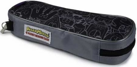 AllerMates EpiPen/AuviQ Allergy Medicine Carrying Case:  Black/Gray Pattern