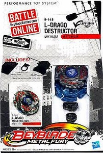Beyblades Metal Fury Attack Battle Top #B148 L-Drago Destructor