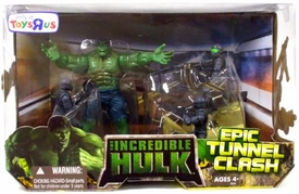 Incredible Hulk Movie Exclusive Action Figure Playset Epic Tunnel Clash