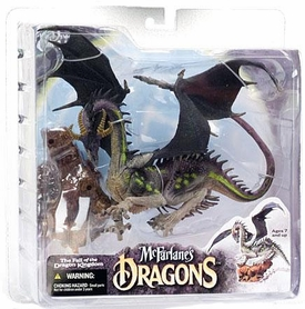 McFarlane Toys Dragons Series 4 Action Figure Eternal Dragon Clan 4