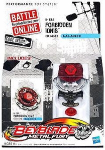 Beyblades Metal Fury Balance Battle Top #B135 Forbidden Ionis