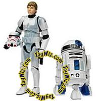 Star Wars Expanded Universe Action Figure 2-Pack Luke Skywalker in Stormtrooper Disguise & R2-D2