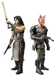 Star Wars Expanded Universe Action Figure 2-Pack Quinlan Vos & Vilmarh Grahrk