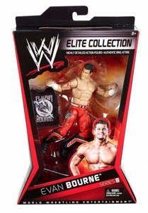 Mattel WWE Wrestling Elite Series 8 Action Figure Evan Bourne