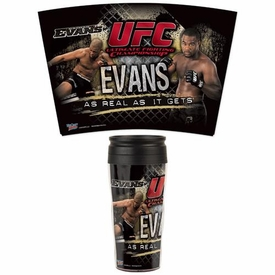 Wincraft UFC & MMA Mixed Martial Arts Travel Mug Rashad Evans