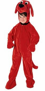 Clifford the Big Red Dog Rubies Clifford Costume #10690 [Child]