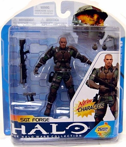 Halo 3 McFarlane Toys Series 7 Action Figure Sgt. Forge COLLECTOR'S CHOICE!