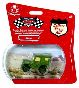Disney Pixar Cars Exclusive 1:48 Die Cast Car Sarge