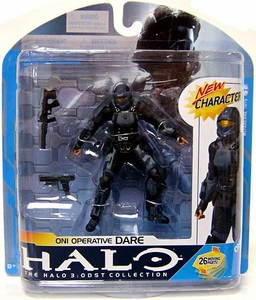 Halo 3 McFarlane Toys Series 7 Action Figure ONI Operative Dare