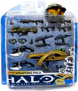 Halo 3 McFarlane Toys Series 7 Exclusive Halo Wars Weapons Pack