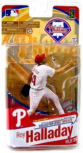 McFarlane Toys MLB Sports Picks Series 26 Exclusive Action Figure Roy Halladay (Philadelphia Phillies) White Uniform BLOWOUT SALE!