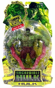 Incredible Hulk Movie Exclusive Action Figure Gamma Glow Hulk