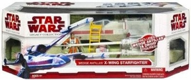 Star Wars 2009 Legacy Collection Exclusive Vehicle X-Wing Fighter with Wedge Antilles & Droid Action Figures